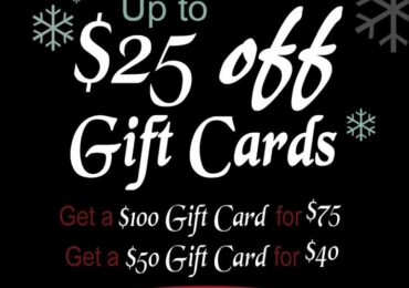 Renegade Christmas discount card