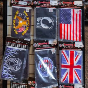 Motorcycle flags