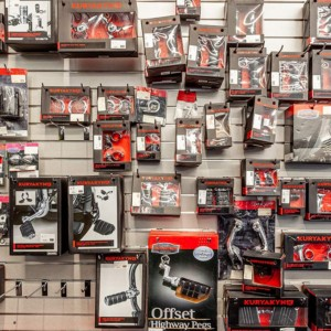 Motorcycle accessories at Renegade Modesto