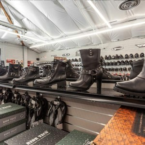 Boots and shoes for male and female bikers