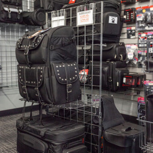 Tall vertical travel bags