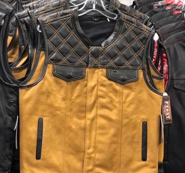 NEW ITEM!! Check our our latest Club style vest!